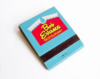 1970s Bob Evans Restaurant Matchbook - Midwest Memorabilia