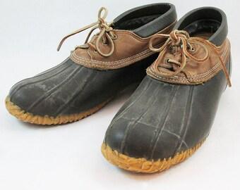 Vintage Eddie Bauer Duck Boots - Low Cut - Mens Size 12
