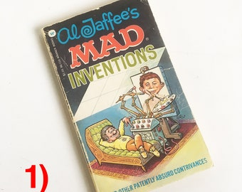 1970s Mad Magazine Pocket Comic Book, Cartoon Book, Alfred E. Neuman