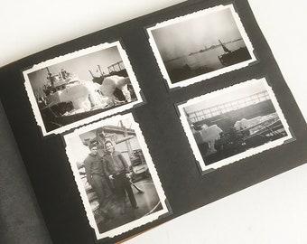 World War II U.S. Coast Guard Sailor's War Photo Album
