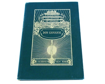 Don Giovanni  G. Schirmer's Collection of Operas 1900