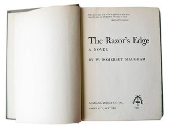 The Razor's Edge by W. Somerset Maugham - First Edition