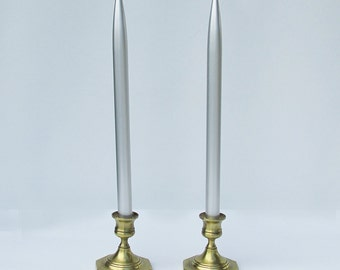 """A Pair of Vintage Aluminum """"Lifetime Candles"""" - Never Been Used"""
