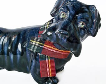 Vintage Scottie Dog Ceramic Figurine