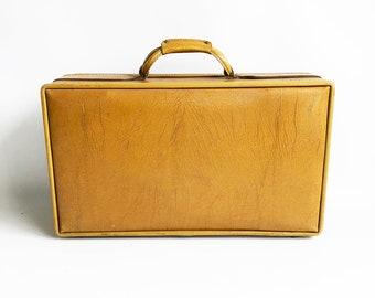 "Mid Century Hartmann 21"" Suitcase - Dijon Mustard Yellow ""High Quality, USA Made Luggage"""
