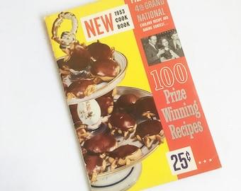 1950s-60s Pillsbury Recipe Contest Winners Cook Book, Bake Off Winners, Grand National Recipe Book