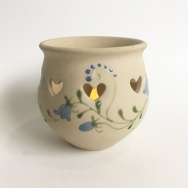 Swedish Made Gabriel Candle Holder Stoneware Candleholder image 0