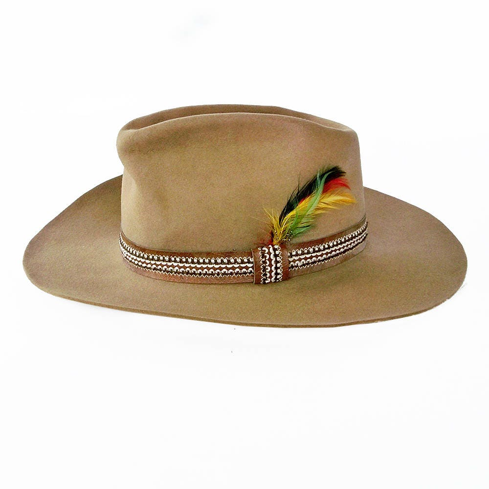 92e57417 Vintage Stetson Winchester Limited Edition Cowboy Hat - 3X Beaver Felt