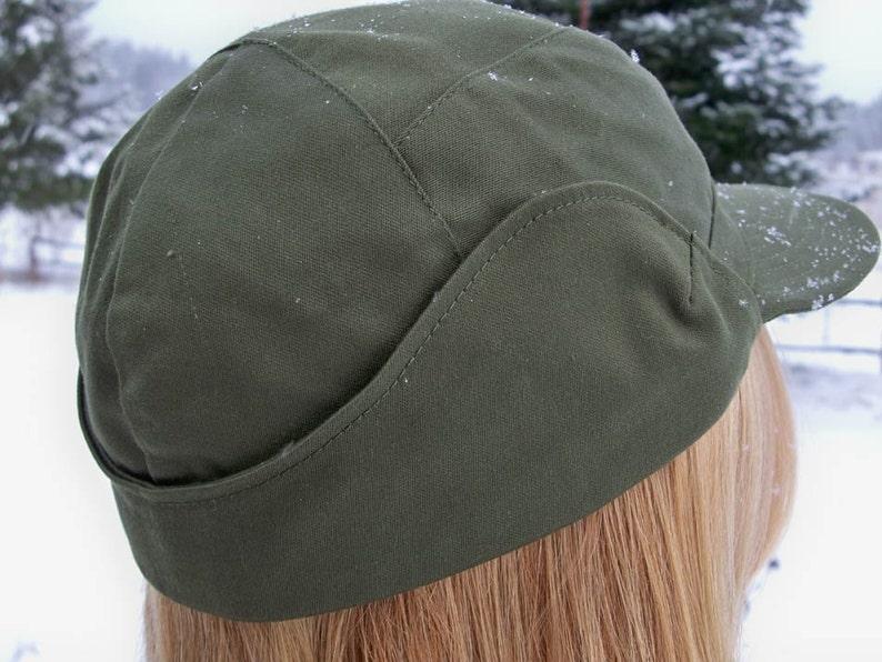 de9b9fe5 Winter Army Surplus Hat with Ear Flaps Super | Etsy