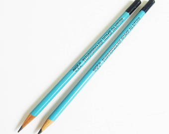 A Pair of 1970s Tupperware Home Parties Pencils - Mid Century American Pop Culture - FREE USA SHIPPING