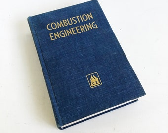 1957 Combustion Engineering Reference Book for Fuel Burning & Steam Generation - Power Plant Engineer Guide