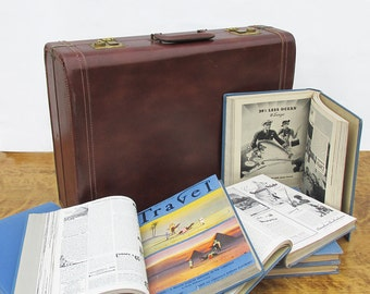 Hardbound Travel Magazine from the 1930s and 1940s.