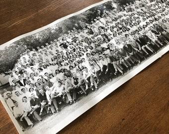 "Minnehaha Academy 1949 School Photo, All Students & Staff 30"" X 8"" Panoramic Photo - Minneapolis, MN, Covenant Church Memorabilia"