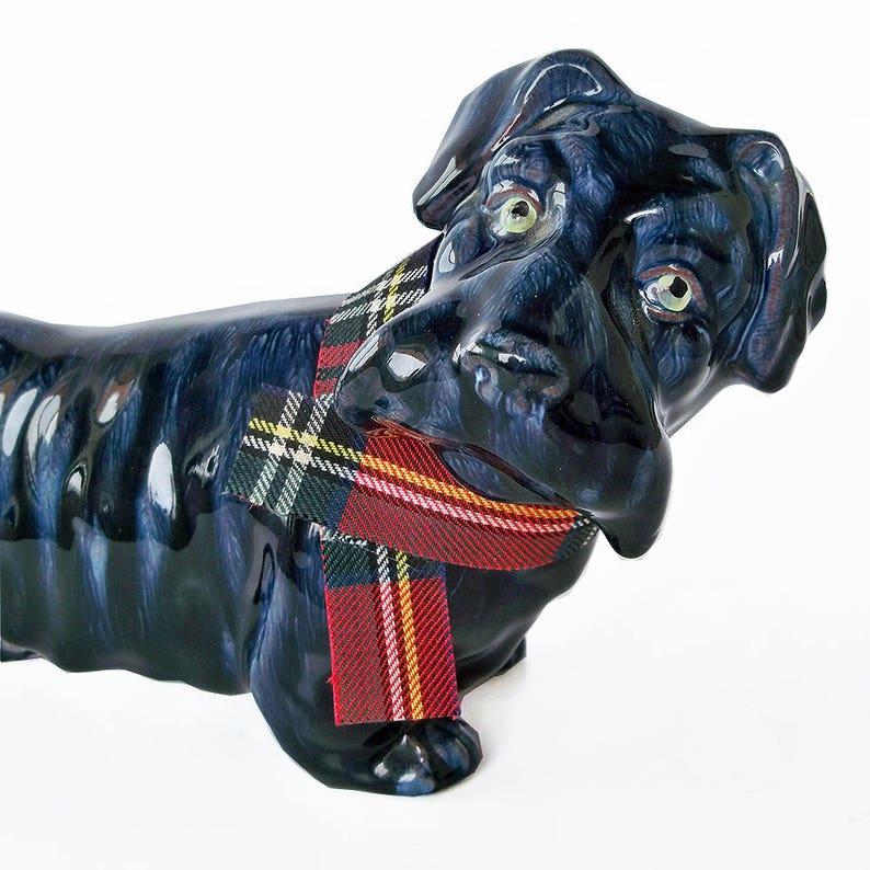 Vintage Scottie Dog Ceramic Figurine image 0