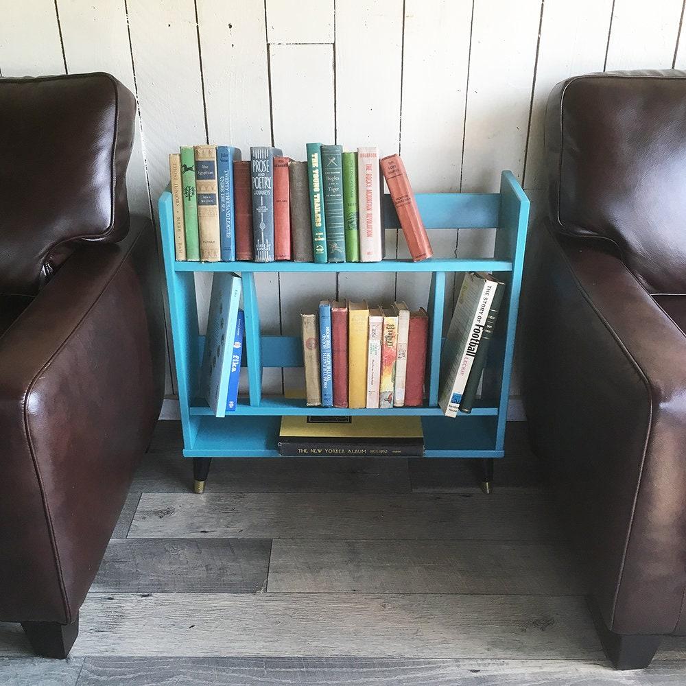 Mid Century Modern Bookshelf Mcm Bookcase In Vintage