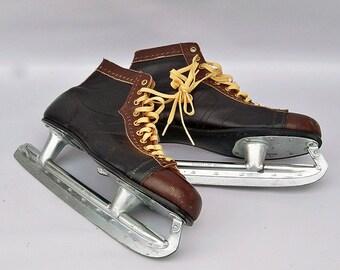 Vintage Jack Riley Signature Series Ice Skate - Mens Size 12