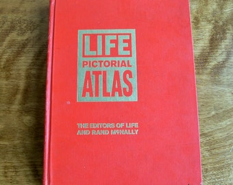 Life Pictorial Atlas of the World 1961