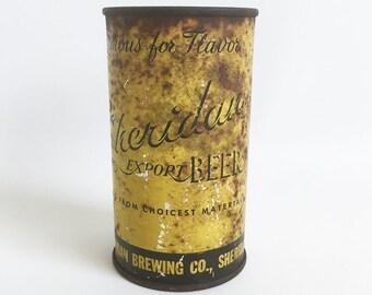 1950s Sheridan Export Beer Can, Sheridan Brewing Co., Sheridan, Wyoming