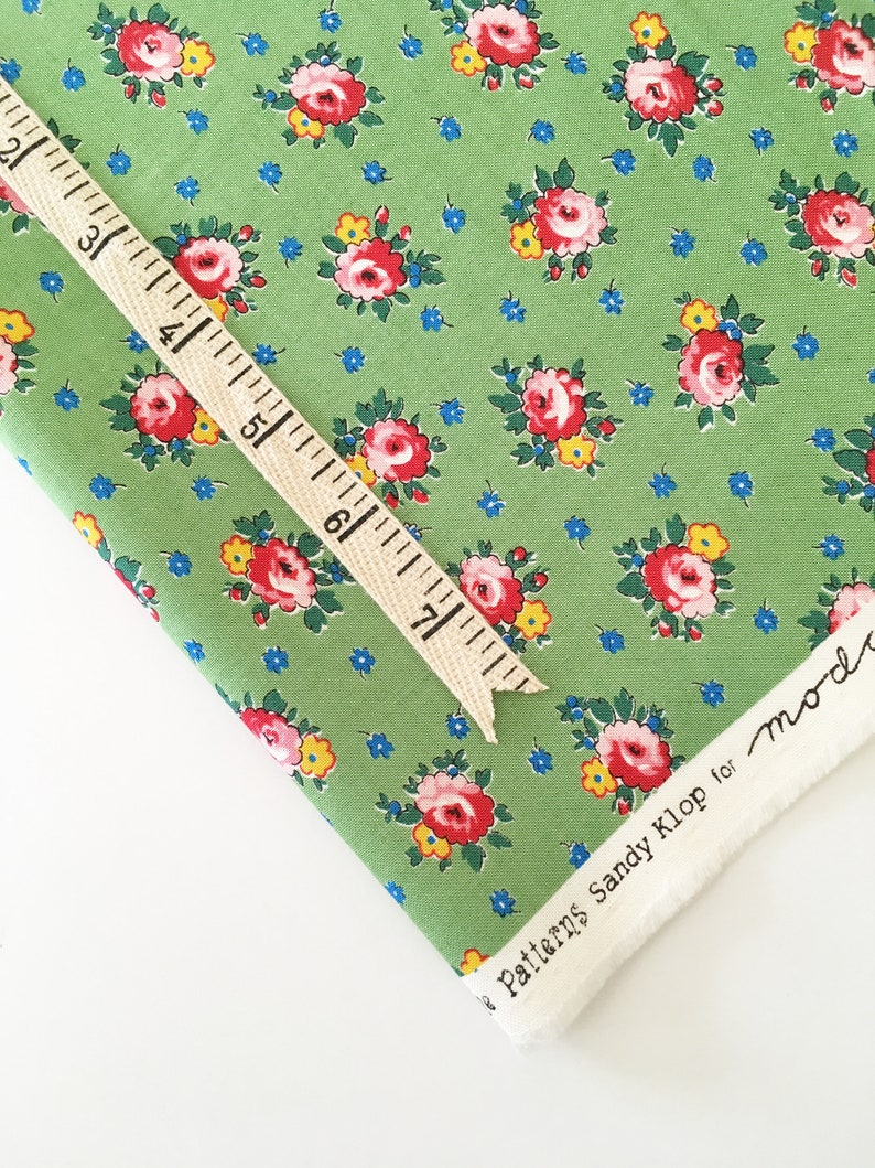 Sweet Harmony Fabric by American Jane and Moda  Apron Flower image 0