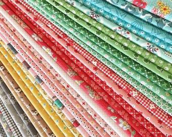 Lori Holt Stitch Fabric Fat Quarter Bundle - 30pc Exclusive Bundle