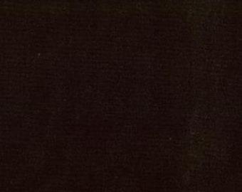 Moda Bella Black Fabric - Bella Solid Black Cotton Quilting Fabric by the 1/2 Yard