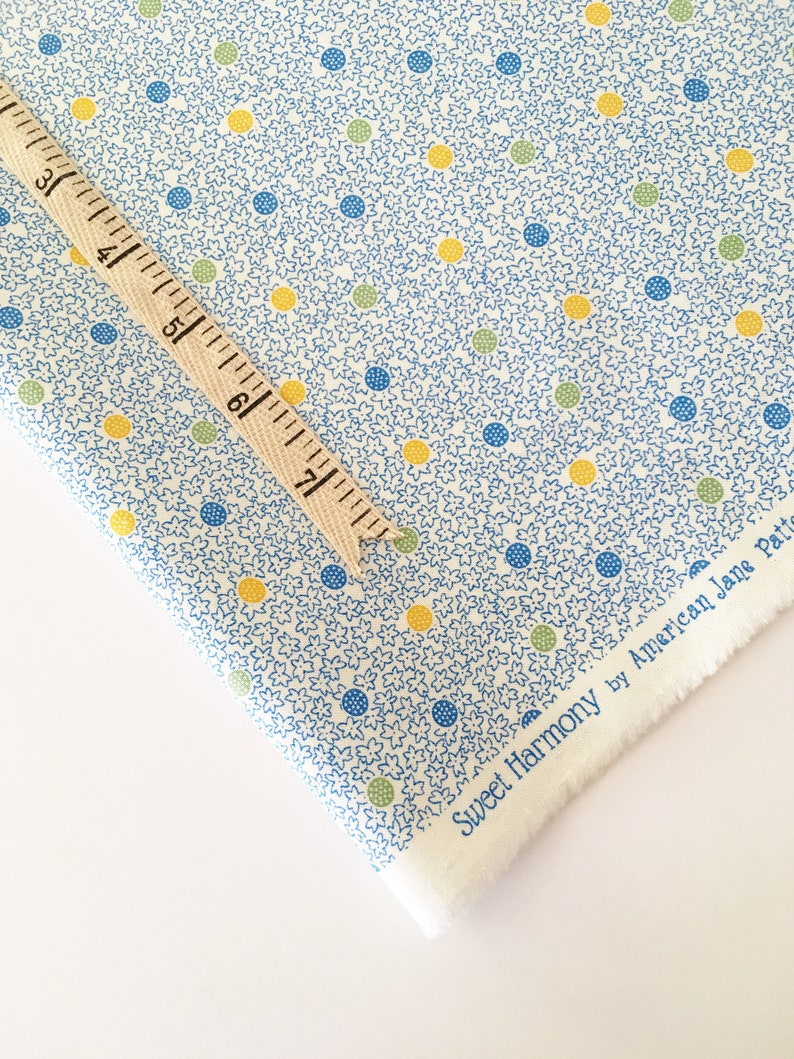 Sweet Harmony Fabric by American Jane and Moda  Blue and image 0