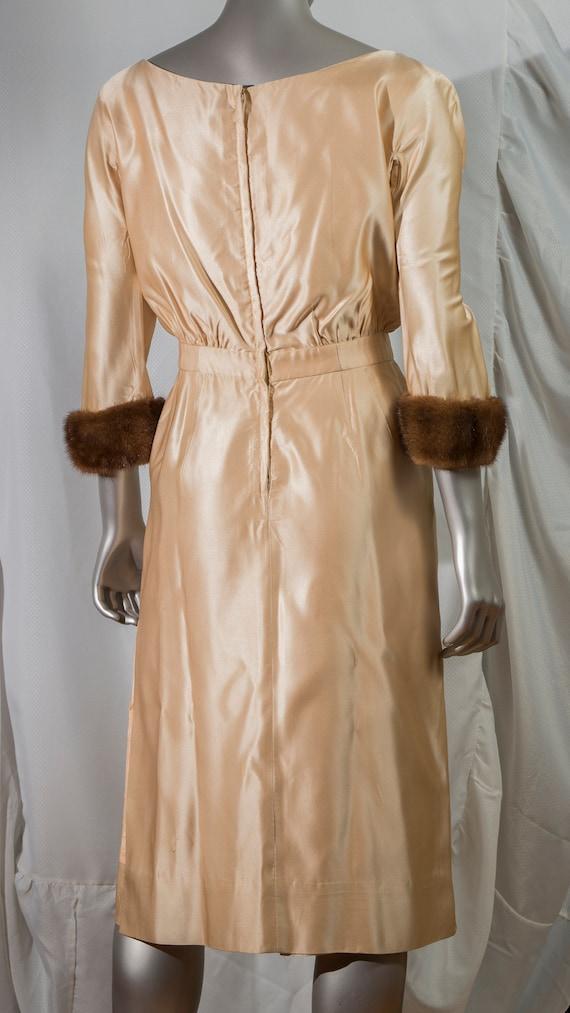elegant vintage cocktail dress 1960s - image 2