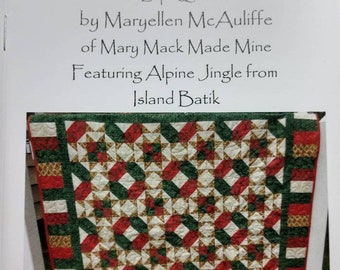Jack's Star Quilt Pattern Booklet Instructions to Make a Quilt
