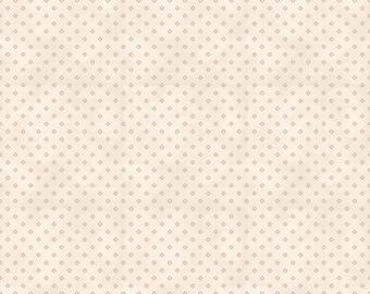 Riley Blake Red Elegance Diamonds Cream C9076-CREAM