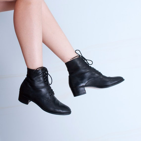 Granny Ankle Booties Hipster   Etsy
