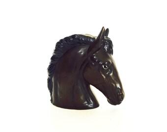 Vintage Ceramic Horse Head Planter / Vase