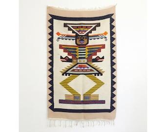 Vintage South American Wool Wall Hanging