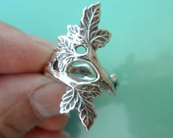 Autumn Leaf ring Unique Sterling Silver unique ring Jewelry 2018 Adjustable Sterling silver ring tree branch ring Not spoon rings R-114