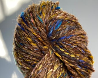 Turquoise Mines-  Handspun Yarn