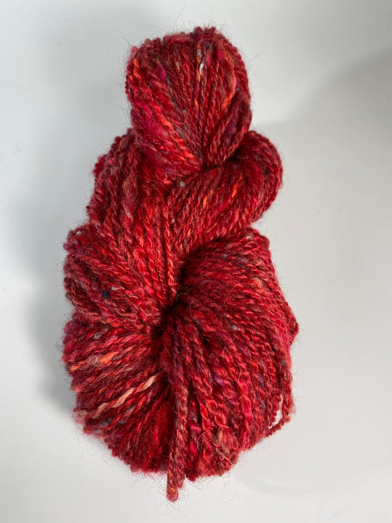 Handspun Yarn Little Red