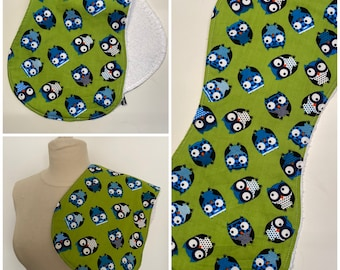 Spitting cloth / farmer's cloth, ergonmisch - cotton & terry, shoulder cloth, sniffer cloth, baby washcloth
