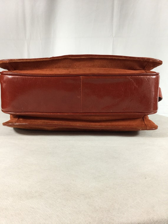 Vintage Bally Lady Diana Leather Suede handbag - image 9