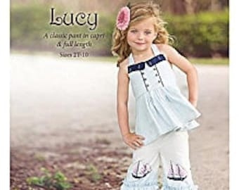 Violette Field Threads Pattern Whitney Size 2T-10 Years Shorts, Capris, or Full Length Pants