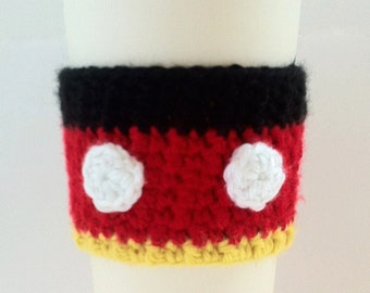 Mickey Mouse Cup Cozy
