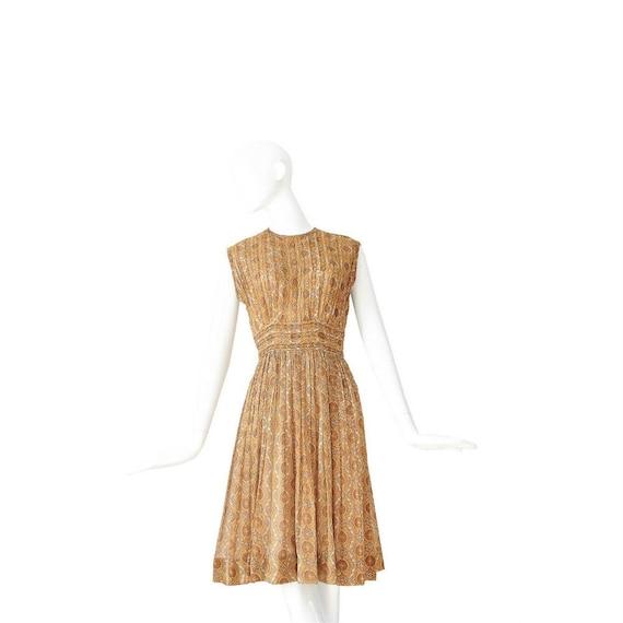 1950s Dress | Vintage 50s Day Dress | Marigold Pi… - image 1