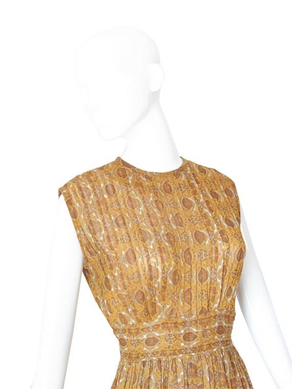 1950s Dress | Vintage 50s Day Dress | Marigold Pi… - image 3