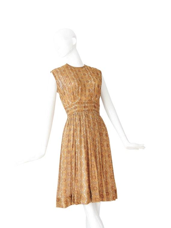 1950s Dress | Vintage 50s Day Dress | Marigold Pi… - image 2