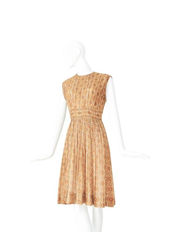 1950s Dress | Vintage 50s Day Dress | Marigold Pi… - image 4