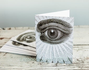 eye greeting card when you need to say nice to see you or any sentence starting with I when you need to say free and accepted to your friend