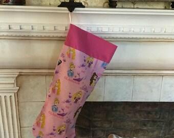 Disney princess christmas stocking