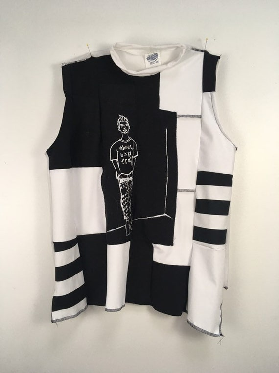 Urban Disciple By Ghoul Boy Scrapwork Zero waste Tank top Editorial 3/5