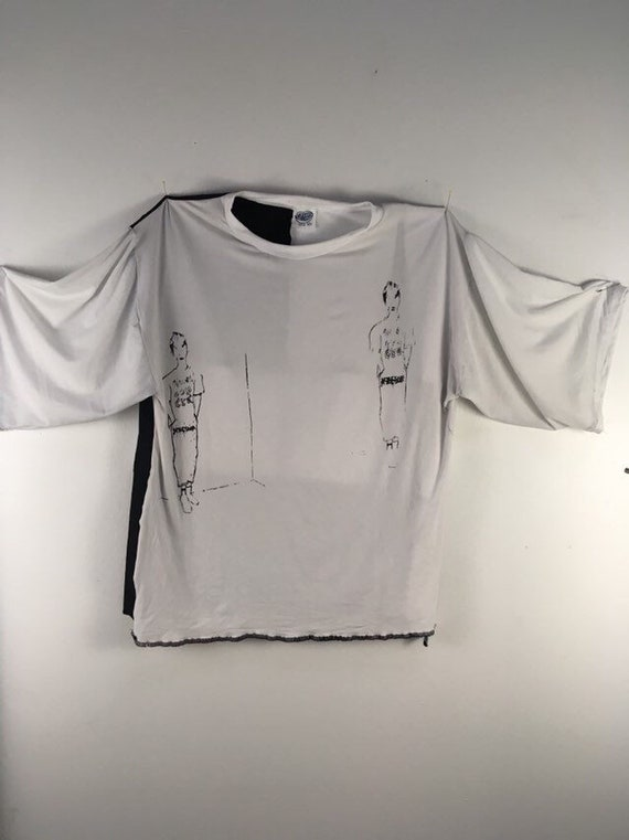 Urban Disciple By Ghoul Boy Scrapwork Zero waste T-shirt top Editorial 5/5