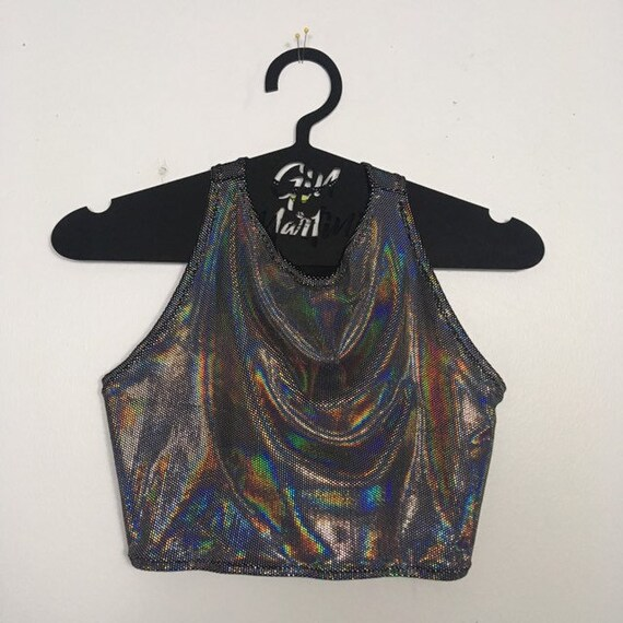 Disco Babe Crop Top tank