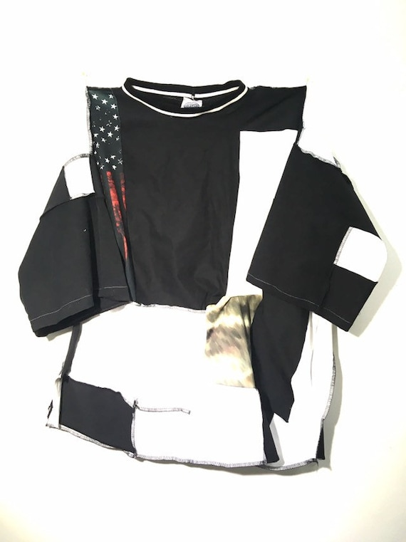 Urban Disciple By Ghoul Boy Scrapwork Zero waste T-Shirt Editorial 2/5