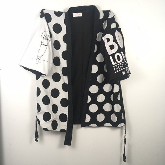 Urban Disciple By Ghoul Boy 1of2 Polka Dot Noragi Coat Jacket